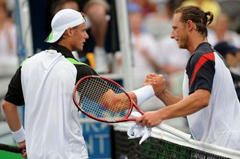 David Nalbandian takes on home favourite Lleyton Hewitt in the first round.