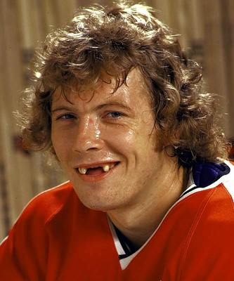 "Bobby Clarke - Captain of Shero's ""Bullies"""