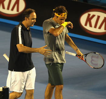 Paul Annacone and Roger Federer: Is he the difference?