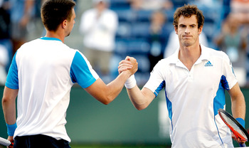 Andy Murray and Robin Soderling