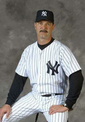 TAMPA, FL - FEBRUARY 26:  Don Mattingly #23 of the New York Yankees poses for a picture during Yankees Photo Day in Tampa, Florida.  (Photo By Ezra Shaw/Getty Images)