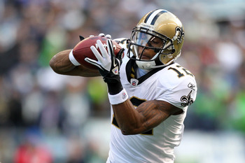 Marques Colston had another 1,000-yard season despite Brees' spread the wealth mentality.