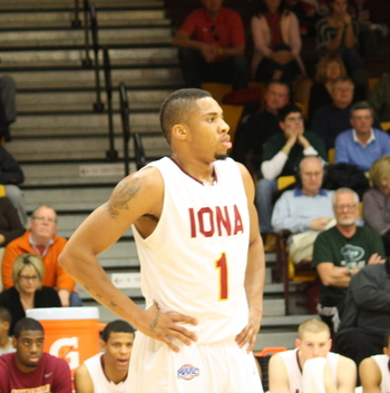 Iona newcomer Mike Glover is averaging 21.5 and 10.5 rebounds per game.