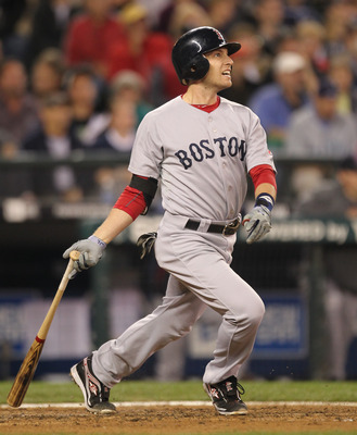 SEATTLE - SEPTEMBER 13:  Jed Lowrie #12 of the Boston Red Sox bats against the Seattle Mariners at Safeco Field on September 13, 2010 in Seattle, Washington. (Photo by Otto Greule Jr/Getty Images)