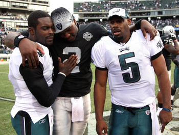 See the guy in the middle of the picture there? He beat us. JaMarcus Russell, the NFL's biggest bust, probably ever, beat us.