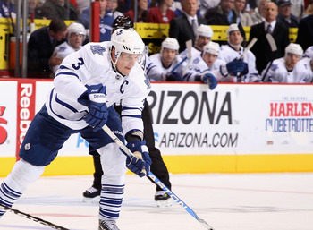 Dion Phaneuf was last year's Maple Leafs trade mark at the deadline