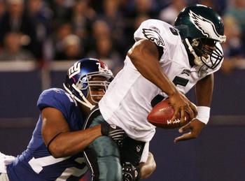 Donovan McNabb's inability to win close games was his most frustrating attribute.