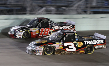 Austin Dillon raced for the win in practically every race last season and he will be in the fray from the beginning in 2011.