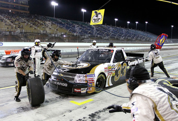 Pit crew woes and bad luck marred Ron Hornaday's 2010 season.
