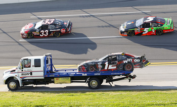 If Justin Allgaier would not haved ended his day on the wrecker several times in 2010 he may have won the title.