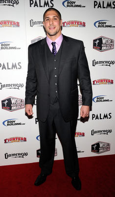 LAS VEGAS, NV - DECEMBER 01:  Mixed martial artist Brendan Schaub arrives at the third annual Fighters Only World Mixed Martial Arts Awards 2010 at the Palms Casino Resort December 1, 2010 in Las Vegas, Nevada.  (Photo by Ethan Miller/Getty Images)