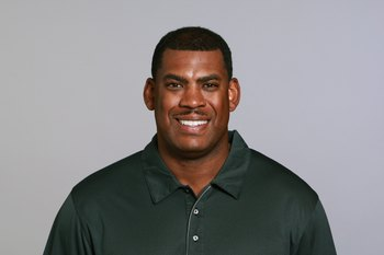JACKSONVILLE, FL - 2009:  Mel Tucker of the Jacksonville Jaguars poses for his 2009 NFL headshot at photo day in Jacksonville, Florida.  (Photo by NFL Photos)