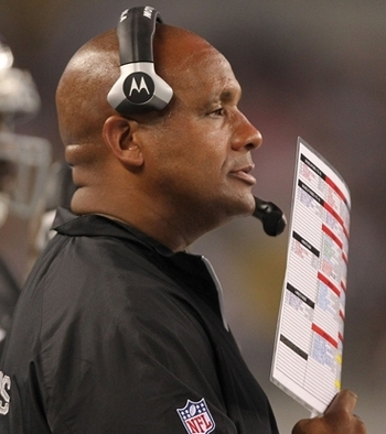 Raider Nation hops Hue Jackson can finish the turnaround started by Tom Cable.