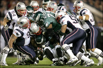 The New England Patriots played tough, physical football in Super Bowl XXXIX, and the result was a slim three point victory for Tom Brady & Co.