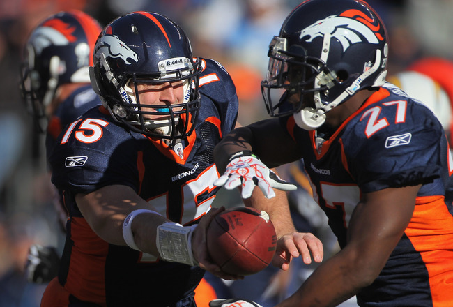 Denver Broncos Who Will And Won T Be Carrying The Rock