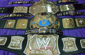 No matter the appearance, the WWE and World Heavyweight Championships are the most prestigious titles in wrestling and to tout someone as a future holder of one of these belts is a bold statement.