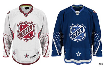 2011 NHL all-star jersey by Reebok