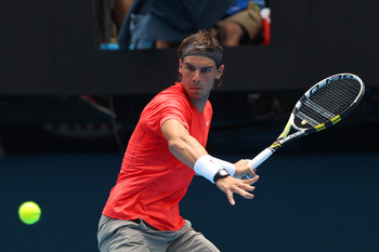 Rafael Nadal looks to impose his will over Roger Federer again in 2011