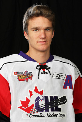 TORONTO, CAN - JANUARY 19:  Jonathan Huberdeau #11 of Team Orr poses for a Head Shot prior to skating in the 2011 Home Hardware Top Prospects game on January 19, 2011 at the Air Canada Centre in Toronto, Canada. (Photo by Claus Andersen/Getty Images)
