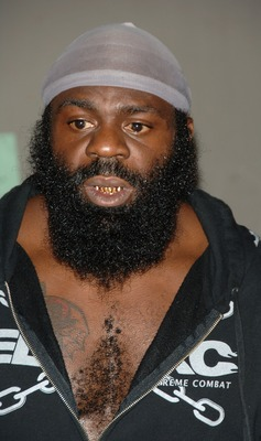 STUDIO CITY, CA - MAY 19:  MMA fighter Kimbo Slice attends CBS's 'Elite XC Saturday Night Fights' Press Conference at CBS Radford Studios on May 19, 2008 in Studio City, California.  (Photo by Stephen Shugerman/Getty Images)