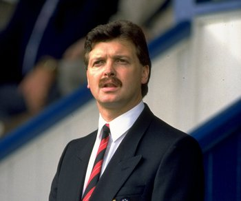 1989:  Michael Knighton the Manchester United Chairman. \ Mandatory Credit: Ben Radford /Allsport