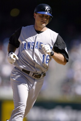 SEATTLE - AUGUST 29:  Joe Randa #16 of the Kansas City Royals rounds third base after hitting a solo home run in the fifth inning against the Seattle Mariners on August 29, 2004 at Safeco Field in Seattle, Washington.  (Photo by Otto Greule Jr/Getty Image