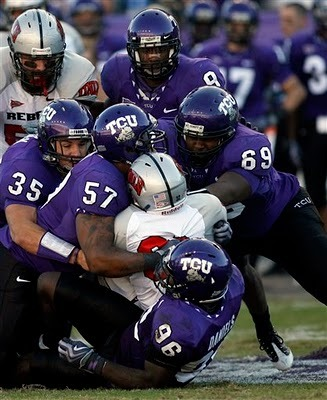 The Horned Frogs will need another strong collective effort from their defensive line to remain on top for their last season in the Mountain West Conference in 2011