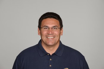 SAN DIEGO - 2009:  Ron Rivera of the San Diego Chargers poses for his 2009 NFL headshot at photo day in San Diego, California.  (Photo by NFL Photos)
