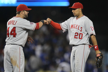 Napoli and Rivera contributed to the Angels at times, but might be better utilized elsewhere.