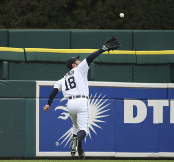 Johnny Damon Catch