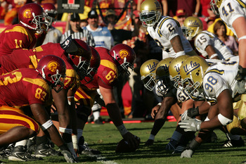 Offensive linemen are in need by USC and UCLA.