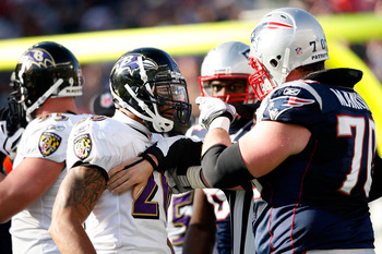 Mankins is the Patriots toughest lineman