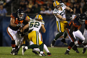 Clay Matthews (left) and A.J. Hawk