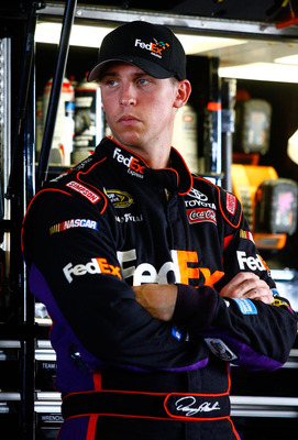 Denny Hamlin was disappointed at the end of his NASCAR Sprint Cup season.