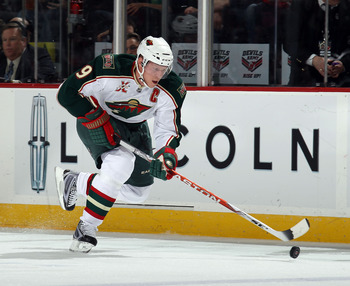 NEWARK, NJ - JANUARY 04:  Mikko Koivu #9 of the Minnesota Wild skates against the New Jersey Devils at the Prudential Center on January 4, 2011 in Newark, New Jersey. The Wild defeated the Devils 2-1.  (Photo by Bruce Bennett/Getty Images)