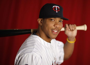 FT. MYERS, FL - MARCH 01:  Ben Revere #87 of the Minnesota Twins poses during photo day at Hammond Stadium on March 1, 2010 in Ft. Myers, Florida.  (Photo by Gregory Shamus/Getty Images)