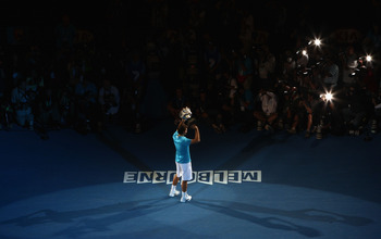 Federer is te defending champion at Melbourne Park
