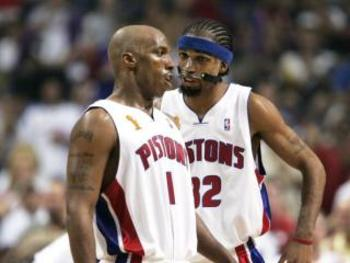 Hamilton teamed with Chauncey Billups to form one of the best backcourts of the modern era.