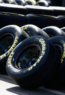 Tires will be an important commodity on pit road.