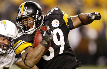 Parker's breakaway speed was a change of pace from Steelers' running backs of the past