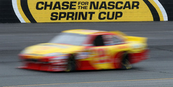 LOUDON, NH - SEPTEMBER 17:  Kevin Harvick, driver of the #29 Shell/Pennzoil Chevrolet, drives on track during practice for the NASCAR Sprint Cup Series Sylvania 300 at New Hampshire Motor Speedway on September 17, 2010 in Loudon, New Hampshire.  (Photo by