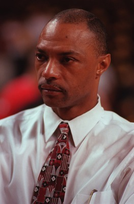 12 Jun 1996:  Assistant coach Jim Cleamons of the Chicago Bulls during a 107-86 loss to the Seattle Supersonics in game 4 of the NBA Finals at Key Arena in Seattle, Washington. Mandatory Credit: Jonathan Daniel/ALLSPORT