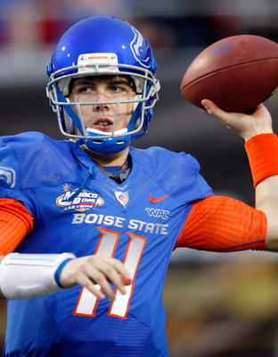 Kellen Moore's Boise State Bronco's may not benefit much from their jump to the Mountain West Conference