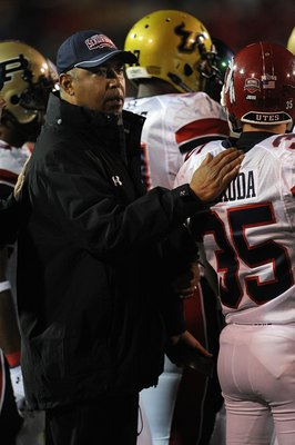 MOBILE, AL - JANUARY 24:  Head coach Marvin Lewis of the North team during the Under Armour Senior Bowl on January 24, 2009 at Ladd-Peebles Stadium in Mobile, Alabama.  (Photo by Ronald Martinez/Getty Images)