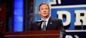 Commissioner Roger Goodell at the 2010 NFL Draft