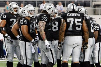 The offensive line should see some new players playing in 2011.