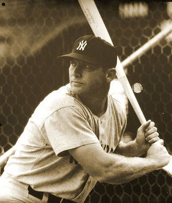 Mickey Mantle / Photo: Tony the Misfit, Wikimedia Commons