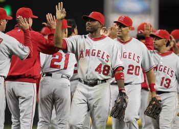 Los Angeles Angels of Anaheim, MLB