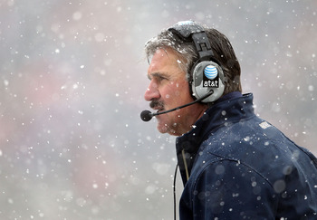 CINCINNATI, OH - DECEMBER 04:  Dave Wannstedt the Head Coach of the Pittsburgh Panthers watches play during the Big East Conference game against the Cincinnati Bearcats at Nippert Stadium on December 4, 2010 in Cincinnati, Ohio.  (Photo by Andy Lyons/Gett