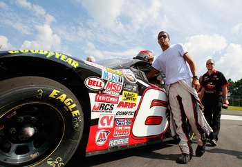 Darrell Wallace Jr. had a full day at Toyota All-Star Showdown but it ended early.